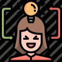 creativity, idea, lightbulb, marketing, education