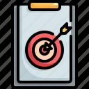 business, goal, focus, clipboard, target
