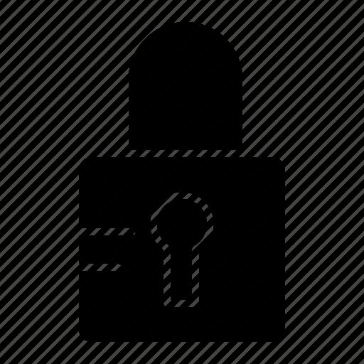 lock, locked, school icon