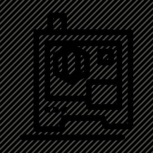 3d, printer, printing, scanner icon