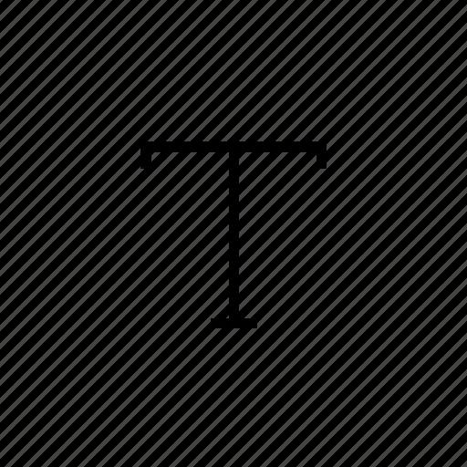 design tool, font, type, typo, typography icon