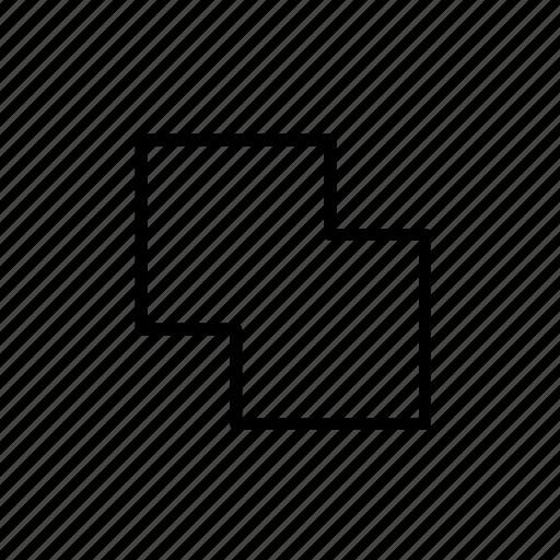 design tool, join, merge, merge tool, unite icon