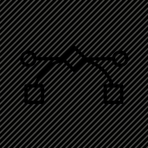 design tool, graphic, illustrate, vector, vector tool icon