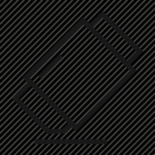 clear, delete, design, eraser, remove, rubber, tool icon