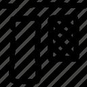 arrange, align, layout, elements, vertical, design, top icon