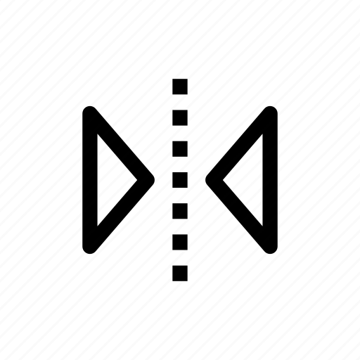 design tool, flip, flip horizontal, flip tool, horizontal icon