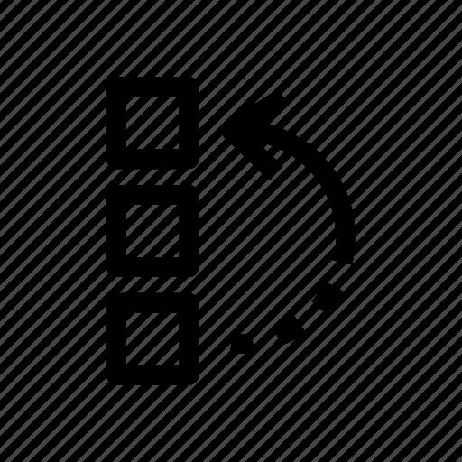 design tool, history, history tool, reverse, tool, undo tool icon