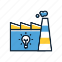 color factory, creative, creative factory, creative manufatory, creativefactory, factory icon