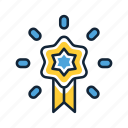 award, badge, label, premium, star, vip icon