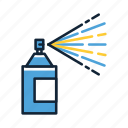 color, graffiti, spray, spray bottle, spray paint icon