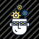 critical thinking, mind, mindset, problem solving, technical, technical thinking, thinking icon