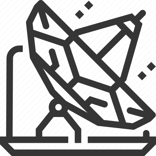 broadcasting, channels, computer, podcast, satellite, send, signals icon