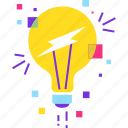 brainstorming, bulb, creative, designing, idea icon