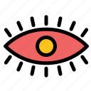 design, eye, eyes, watch icon