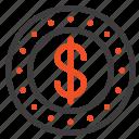 cash, coin, dollar icon