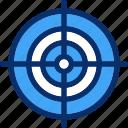 aim, designing, focus, goal, target