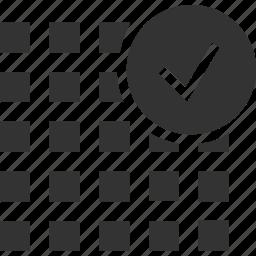 grid, pixels, precise, rasterize, rasterize graphic icon