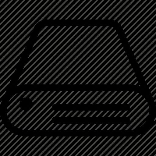 data, device, drive, hard, storage icon