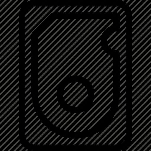 Hdd, disk, drive, hard, storage icon - Download on Iconfinder