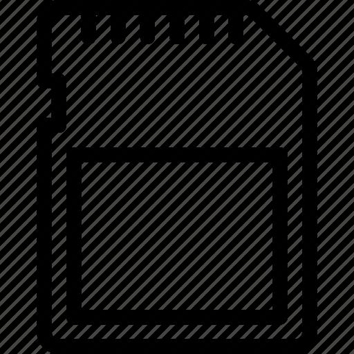 card, data, sandisk, sd, storage icon
