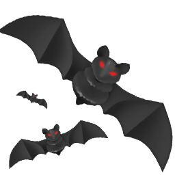 alert, attention, bat, bats, craft, danger, dark, dream, evil, exclamation, flight, fly, halloween, holiday, horror, moon, night, of, problem, scared, scary, tale, terror, warning, wing icon