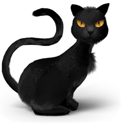 animal, animals, avatar, black, cat, catty, danger, evil, fantasy, halloween, head, horror, kitty, lovely, monster, pet, phh, problem, pussy, scary, spooky, tomcat icon