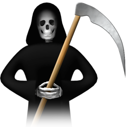 Death Halloween Ghost Scytheman Horror Dead Profile Ukraine Account Devil Monster Doctor Spooky Medical Game Evil War Manager Client User Human Problem Scary Monsters Avatar Icon
