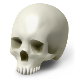 account, avatar, care, doctor, face, halloween, head, health, healthcare, hospital, human, life, medical, medicine, people, poison, scull, skeleton, skull, smile, smiley icon
