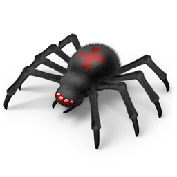 animal, animals, crisp, halloween, horror, insect, insectoid, insects, internet, ladybird, monster, murder, net, network, pet, poison, spider, spooky, terror, web icon