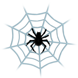 animal, center, clue, cobweb, communication, connection, danger, dangerous, dead, fake, false, grid, halloween, insect, insects, ladybird, media, net, network, shape, social, spider, spider's web, spiderweb, web icon