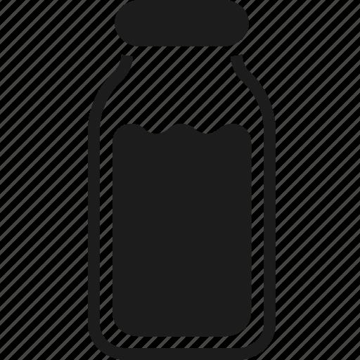bottle, cap, cold, drink, liquid, storage, water icon