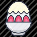 bingsu, bowl, dessert, milk, sweet icon