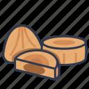 cookies, dessert, homemade, maamoul, sweet icon