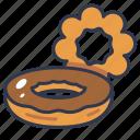 bakery, dessert, donut, doughnut, sweet icon