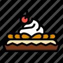 cake, dessert, long, mousse, sweet