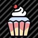 bakery, cupcake, dessert, sweet