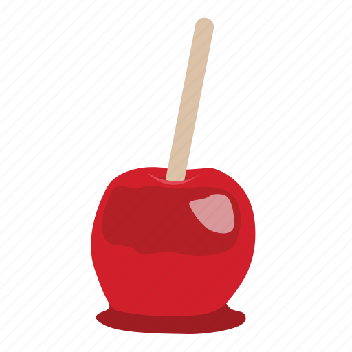 apple, candy, dessert, food, japan, stick icon