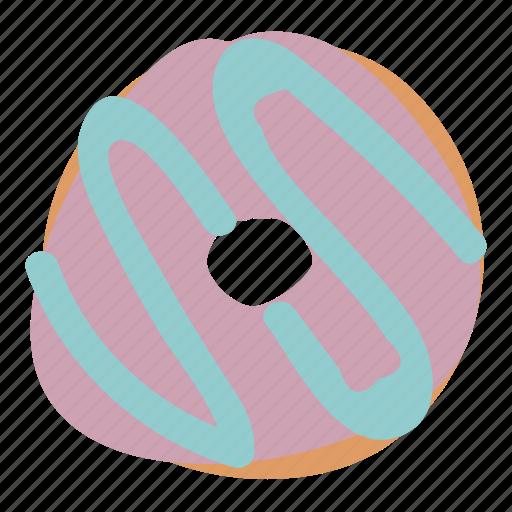 bread, dessert, donut, doughnut, food, sweet icon