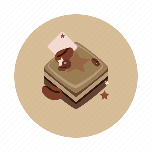 cake, choco, coffee, dessert, food, sdesign, sweet icon