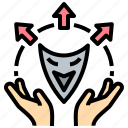 assume, cheat, deciever, fake, fraud icon