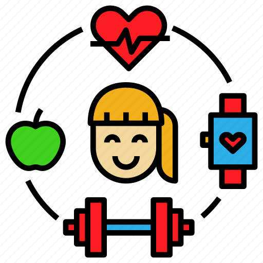 Diet, exercise, fitness, health, healthy, lifestyle icon - Download on Iconfinder
