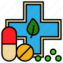 herb, antidote, drug, relief, medicine, pill
