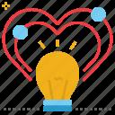 concept, idea, inspiration, inspire, stimulus icon