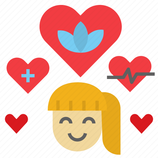 Happy, health, healthy, heart, wellbeing icon - Download on Iconfinder