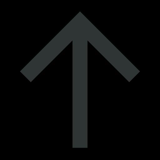 arrow, arrows, arrowup, up, upload icon