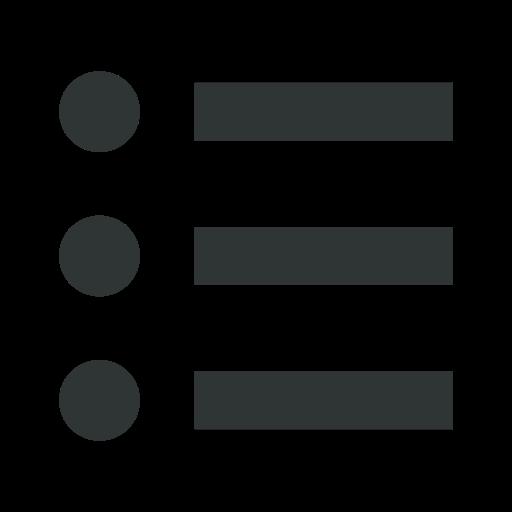 check, checklist, dots, list, menu icon
