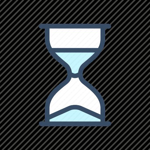 developer, inicializing, progress, sand clock, time, wait icon