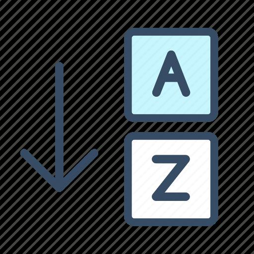 developer, sort, sort by letters icon