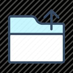 developer, open, open folder icon