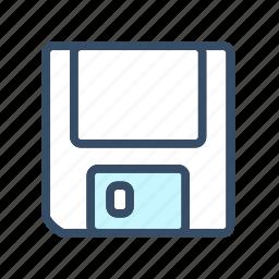 developer, disk, drive, floppy, floppy disk, guardar, save, storage icon